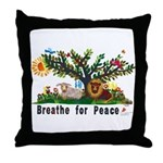Breathe for Peace - Throw Pillow