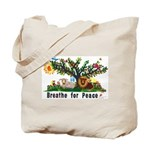 Breathe for Peace - Tote Bag