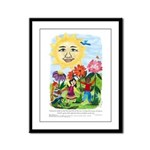 Warmth of the Sun - Framed Panel Print