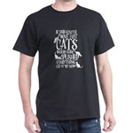 Flat Earth Cat Theory graphic funny earth day t-sh