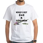World's Best Dad White T-Shirt