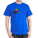 Rainbow Flower Bridesmaid Dark T-Shirt
