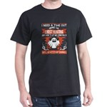 I Need A Time Out Send Me Ghost Hunting T T-Shirt