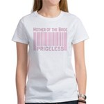 Mother of the Bride Priceless T-shirts Gifts