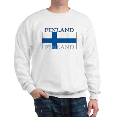 Finland Finish Flag Sweatshirt
