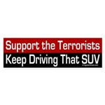 Support the Terrorists (bumper sticker)