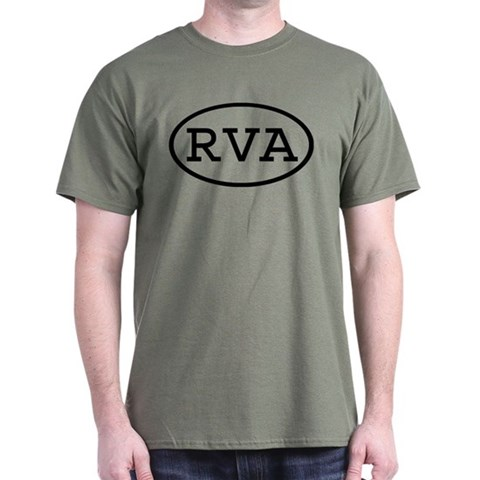 Product Image of RVA Oval Dark T-Shirt