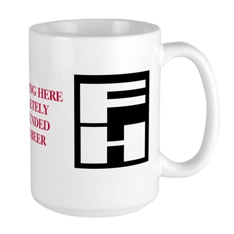 Cupsthermosreviewcomplete Large Mug by CafePress