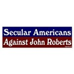 Secular Against John Roberts Sticker