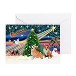 WELSH CORGICHRISTMAS CARDS
