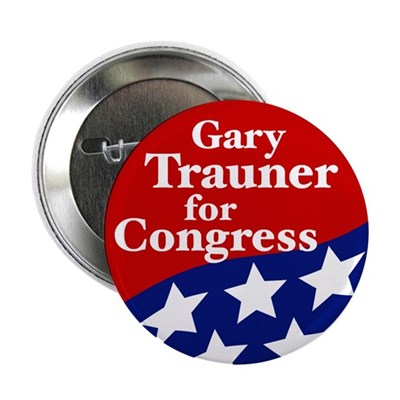 Gary Trauner for Congress campaign button