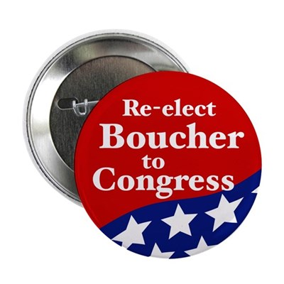 Re-elect Rick Boucher to Congress button