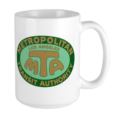Transit Large Mug by CafePress