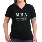 MBA Masters Degree Graduation Gifts T-Shirt