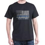 Thin Blue Line PROUD TO SERVE T-Shirt