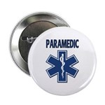 "Paramedic Star of Life 2.25"" Button"