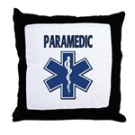 Paramedic Star of Life Throw Pillow