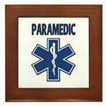 Paramedic Star of Life Framed Tile