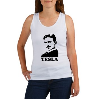 Tesla Women's Tank Top | Gifts For A Geek | Geek T-Shirts