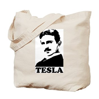 Tesla Tote Bag | Gifts For A Geek | Geek T-Shirts