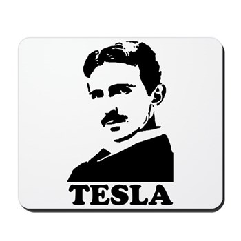 Tesla Mousepad | Gifts For A Geek | Geek T-Shirts