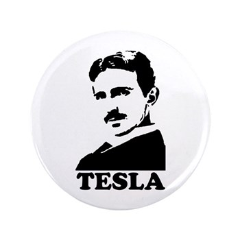 Tesla 3.5 Button | Gifts For A Geek | Geek T-Shirts