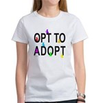 OPT TO ADOPT CAT T-SHIRTS AND GIFTS