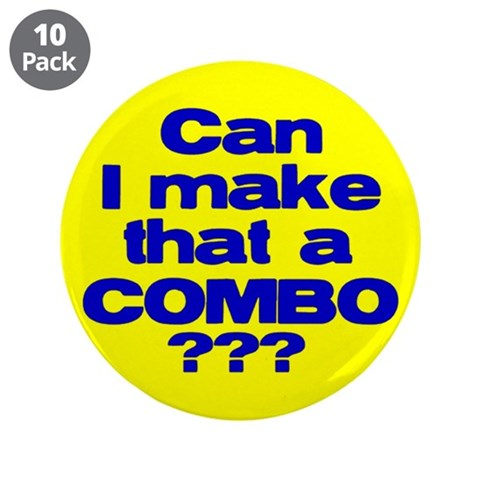 Bubba   3.5 Button 10 pack by CafePress