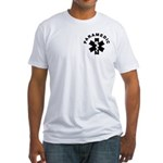 Paramedic Star of Life Fitted T-Shirt