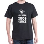 Brewing Since 2005 Beer Fathers Day Gift T-Shirt