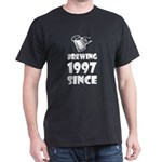 Brewing Since 1997 Beer Fathers Day Gift T-Shirt