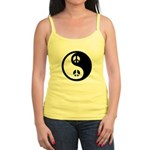 Yin-Yang Peace Sign Jr. Spaghetti Tank