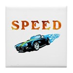 Speed Cars Tile Coaster