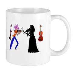 Violin Mug-August Read Thomas Quote