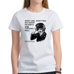Gay Military : Don't Ask Don't Tell T-shirt