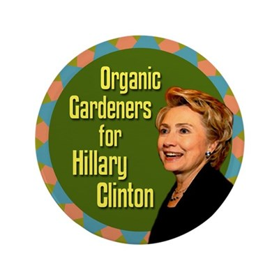 Organic Gardeners for Clinton