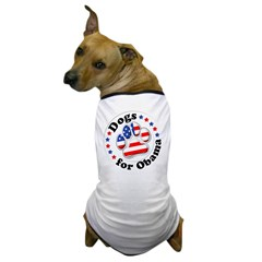 Patriotic Dogs for Obama T-Shirt