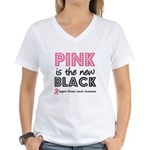 PinkisTheNewBlack (v2) Women's V-Neck T-Shirt