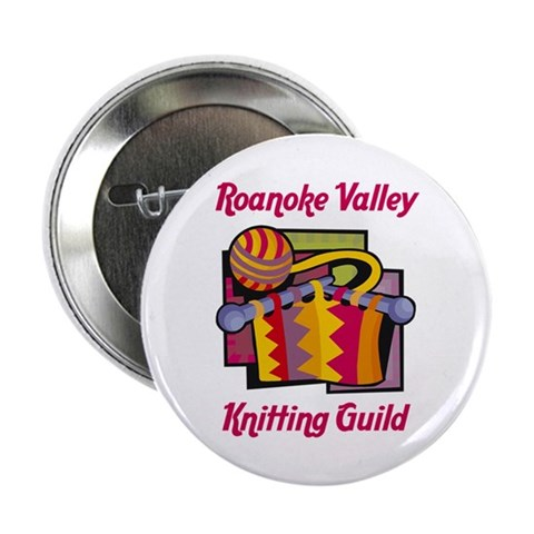 10-pack Roanoke Valley Knitting Guild Button  2.25 Button 10 pack by CafePress