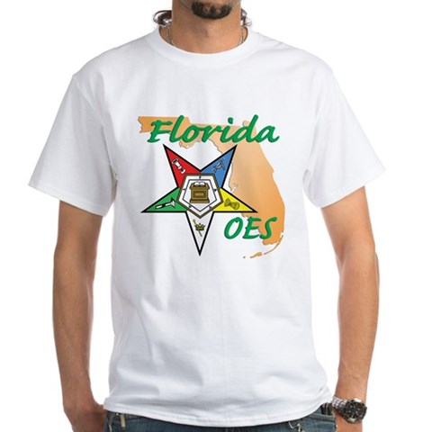 Product Image of Florida Eastern Star White T-Shirt