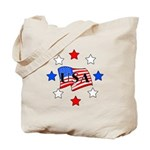 USA Stars and Stripes Tote Bag