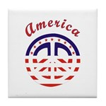 American Peace Tile Coaster