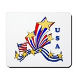 USA Stars and Stripes Mousepad