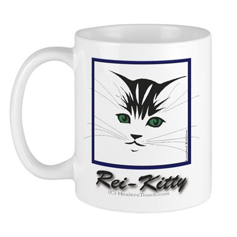 Rei-Kitty Cat Mug by CafePress