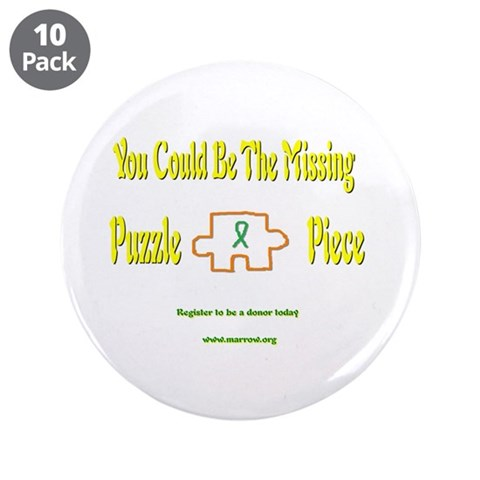 3.5quot; Button 10 pack Cancer 3.5 Button 10 pack by CafePress