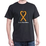 Personalized Orange awareness Ribbon T-Shirt