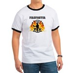 Firefighting Flames Ringer T