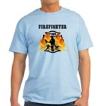 Firefighting Flames Light T-Shirt