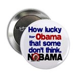 "Lucky for Obama 2.25"" Button"