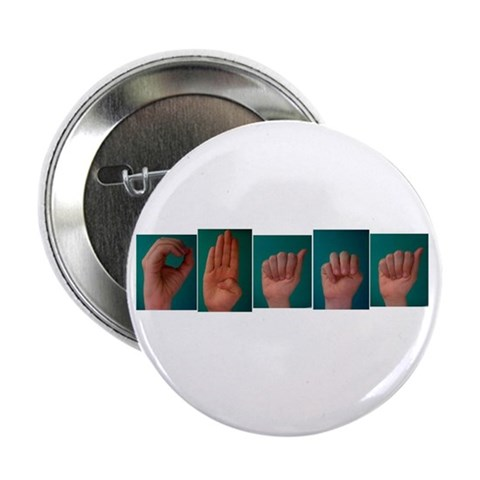 10-pack ASL 'Obama' Buttons Family 2.25 Button 10 pack by CafePress